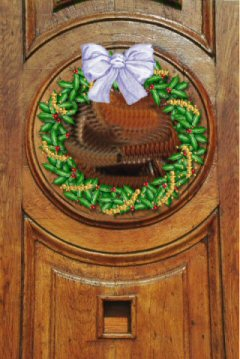 Cherished - Wreath on Door