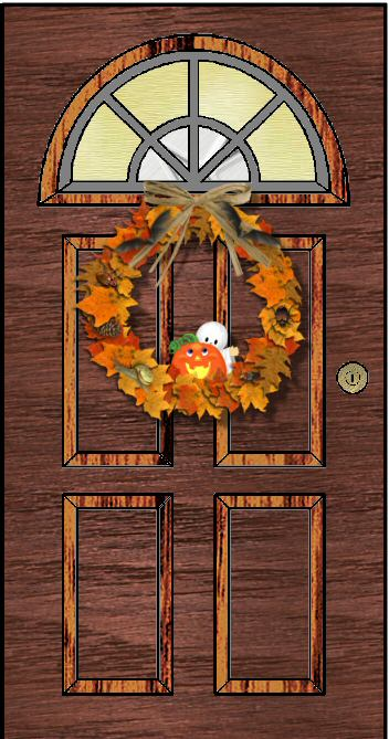 ziggysnowy - halloween door