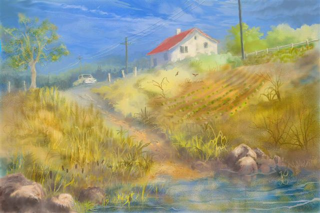 Vern Pilde - House in the Hills