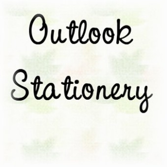 Outlook Express Stationery Tutorial